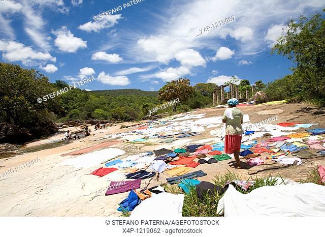 Drying Clothes. Lencois, Bahia, Brazil