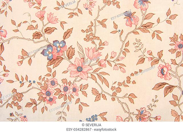 wallpaper old floral texture