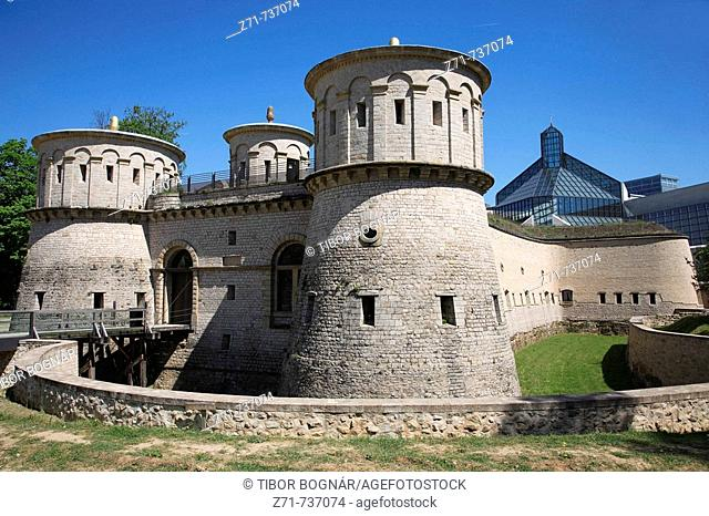Luxembourg, Fort Thüngen, Three Acorns