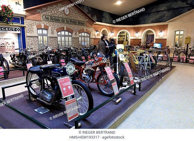 France, Doubs, Sochaux, Peugeot Museum of Adventure