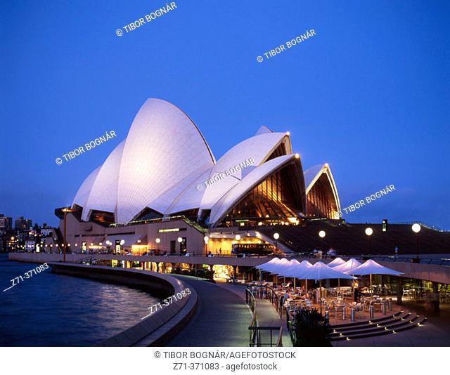 Opera House, Sydney. New South Wales, Australia