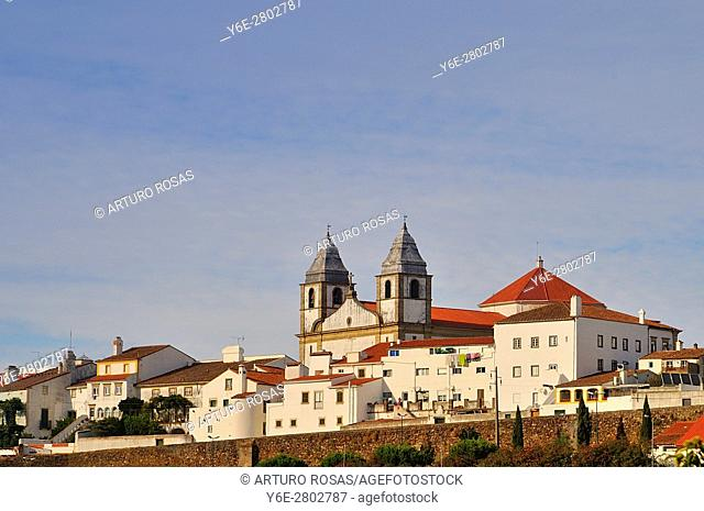 Santa Maria da Devesa Church in Castelo de Vide, Alentejo, Portugal
