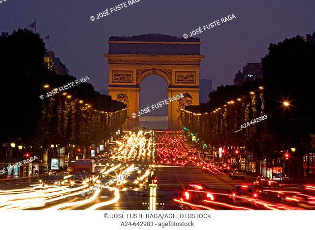 Arc de Triomphe. Paris. France. June 2007