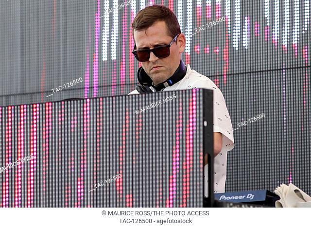 DJ Kaskade at the Sirius XM Music Lounge on March 18, 2016 at the 1 Hotel South Beach at the Private Beach Club in Miami Beach, Florida