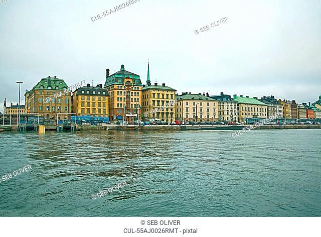 Gamla Stan waterfront, Stockholm, Sweden