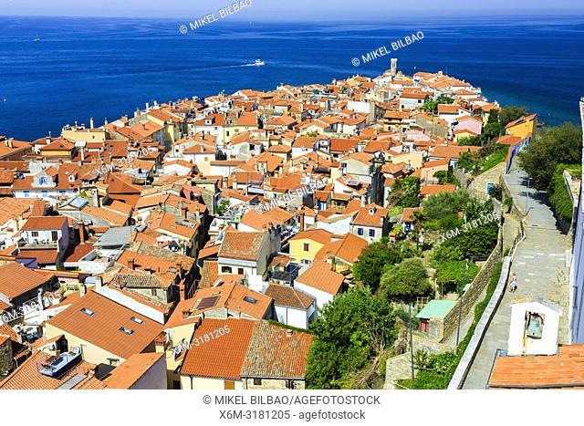 Piran. Slovene Istria region. Slovenia, Europe