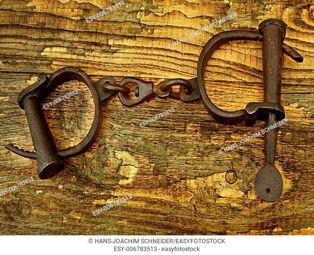 medieval handcuffs