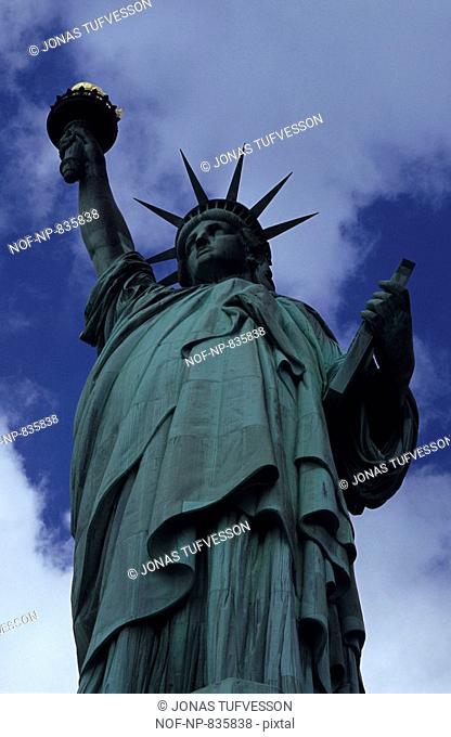 Statue of liberty manhattan usa Stock Photos and Images   age fotostock