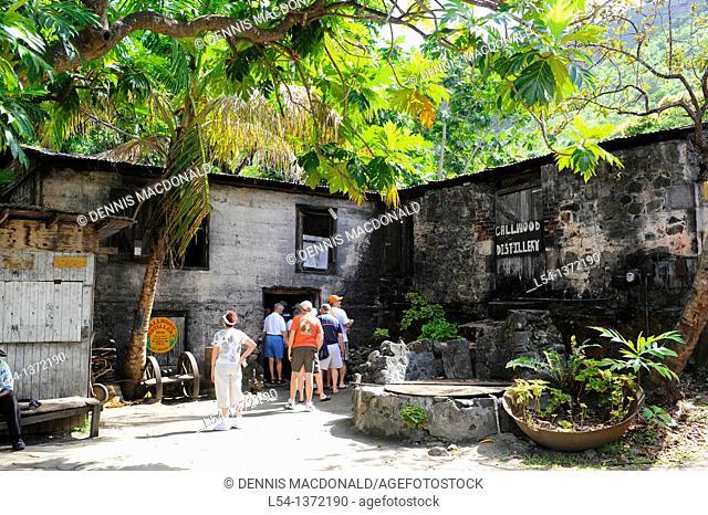 Callwood Rum Distillery Tortola BVI Caribbean Cruise