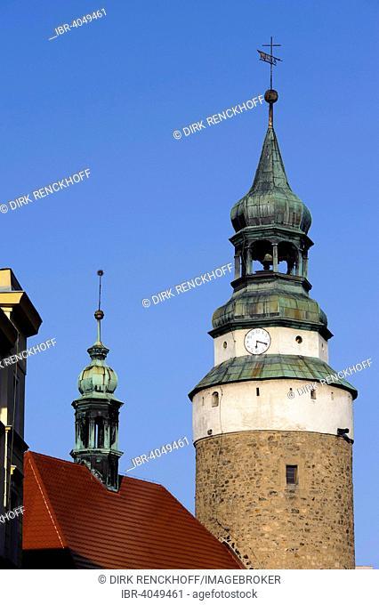 Tower of Anne Chapel, Jelenia Gora, Lower Silesian Voivodeship or Województwo dolnoslaskie, Poland