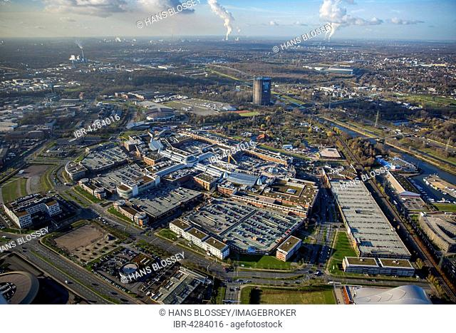 separation shoes 70f58 14cd7 View from gasometer oberhausen centro Stock Photos and ...