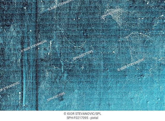Rough textured blue background