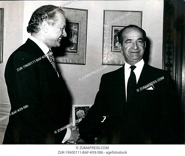 1962 - Photo shows Sr. Jose Figueres, pictured today at the Foreign and Commonwealth office. (Credit Image: © Keystone Pictures USA/ZUMAPRESS.com)