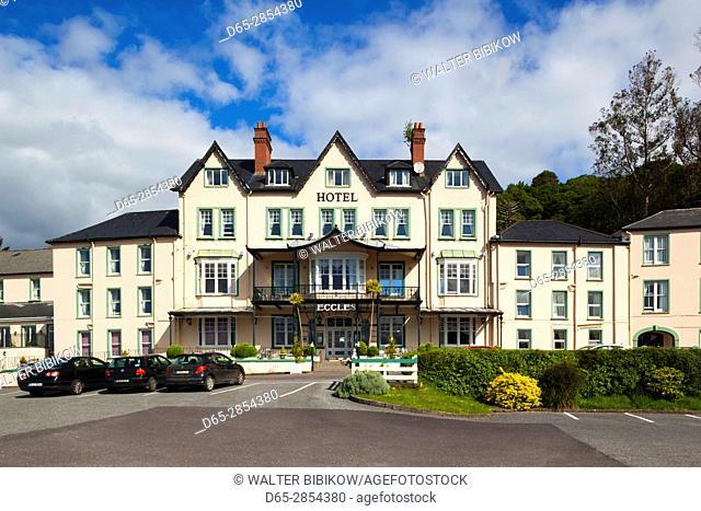 Ireland, County Cork, Glengagariff, Eccles Hotel, exterior