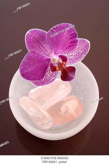 Healing stone rose quartz