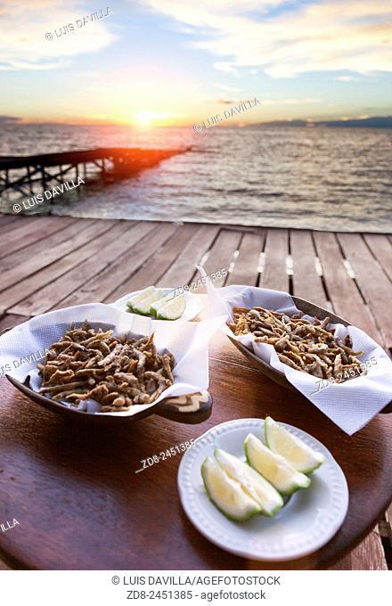 frites little fish. mfangano island camp. mfangano island. victoria lake