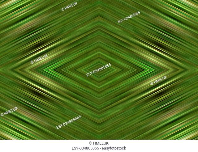Green bright background with the elements of geometry