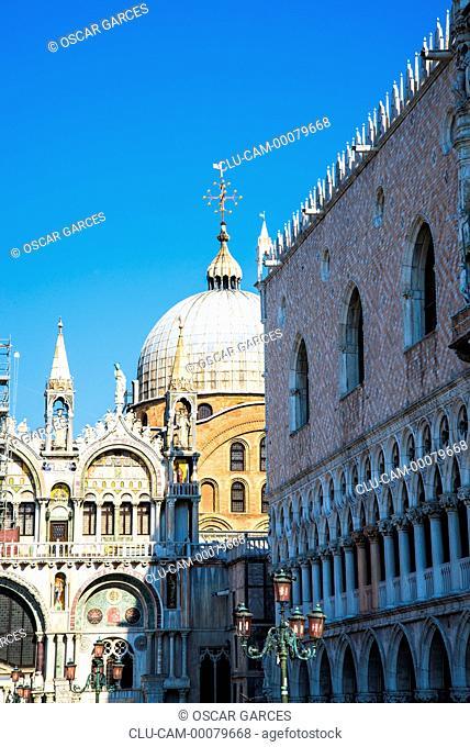 St Mark's Basilica, Venice, Veneto, Italy, Western Europe