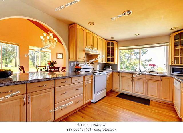 Modern Kitchen Arch Stock Photos And Images Age Fotostock