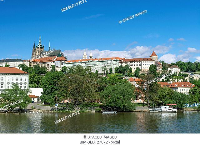 Prague Castle, Prague, Central Bohemia, Czech Republic