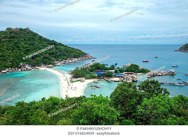 Koh Nang yuan Island, Thailand