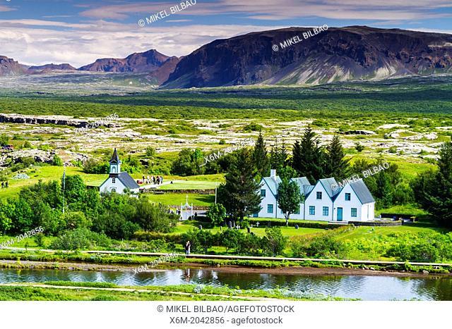 Rift Valley. Pingvellir National Park. Golden Circle. Iceland, Europe