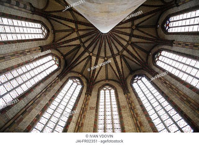 Church of the Jacobins, Toulouse, Midi-Pyrenees, France