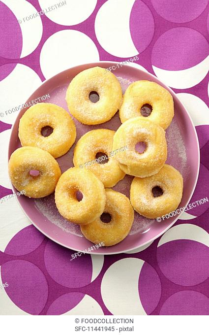 Sugared doughnuts