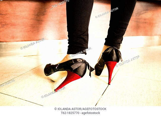 Rock a billy  Special shoes  High heels