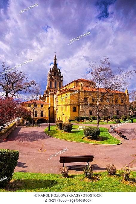 Basilica de Nuestra Senora de Begona - Basilica of Begona in Bilbao, Biscay, Basque Country, Spain