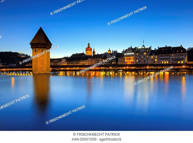 Old Town of Lucerne city, Switzerland