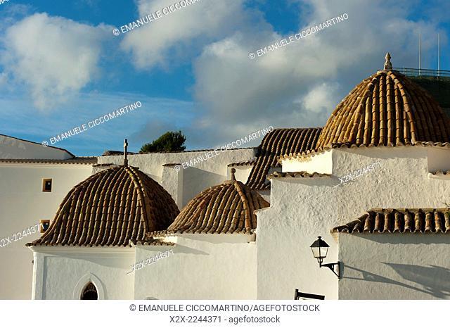 Santo Domingo Convent, Old Town, Dalt Vila, Eivissa, Ibiza, Balearic Islands, Spain, Mediterranean, Europe