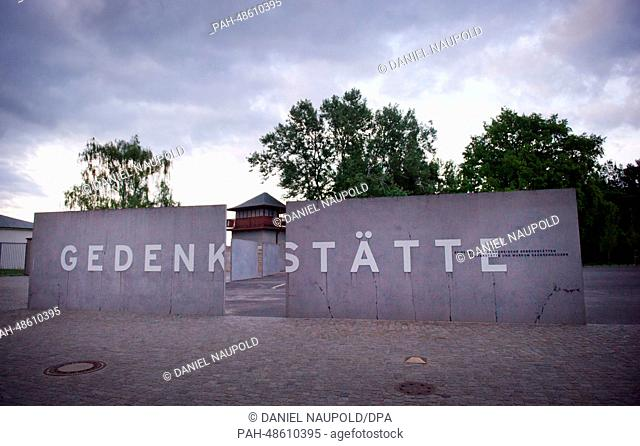 The memorial at Sachsenhausen concentration camp in Oranienburg,Germany, 04 May 2014. Photo: DANIELNAUPOLD/dpa | usage worldwide