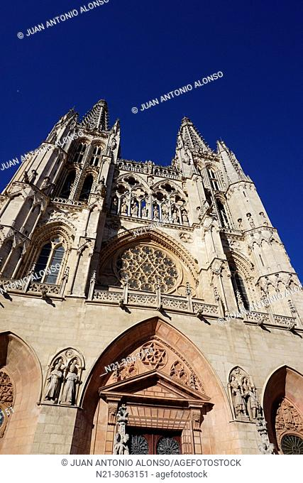 Santa Iglesia Catedral Basílica Metropolitana de Santa María, Burgos, Castlla y León, Spain