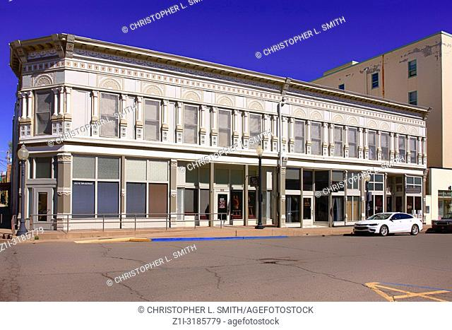 Once a department store, now a collective group of little stores on W. Broadway Street in downtown Silver City NM