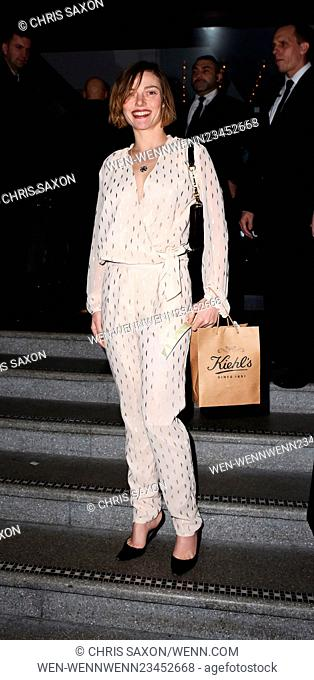 the InStyle EE Rising Star Party at 100 Wardour Street Featuring: Camilla Rutherford Where: London, United Kingdom When: 04 Feb 2016 Credit: Chris Saxon/WENN