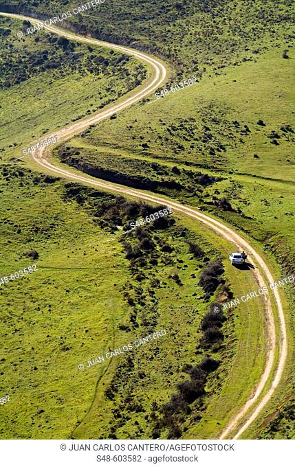 Londeras hill in Toribía range. La Rioja Alta. Spain