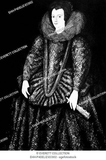 Queen Elizabeth I (1533-1603), Queen of England, 1558-1603, portrait at age 20, 1553