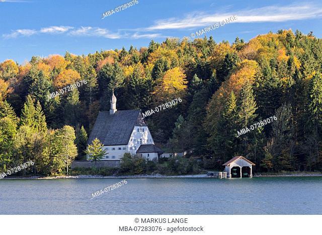 Klösterl at Walchensee, Upper Bavaria, Bavaria, Germany