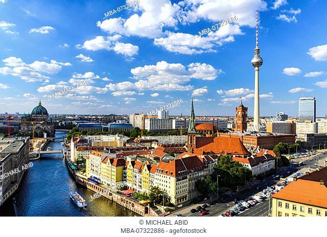 Berlin skyline panorama, Germany