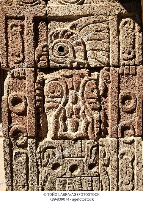 Quetzalpapalotl Palace. Teotihuacan, México
