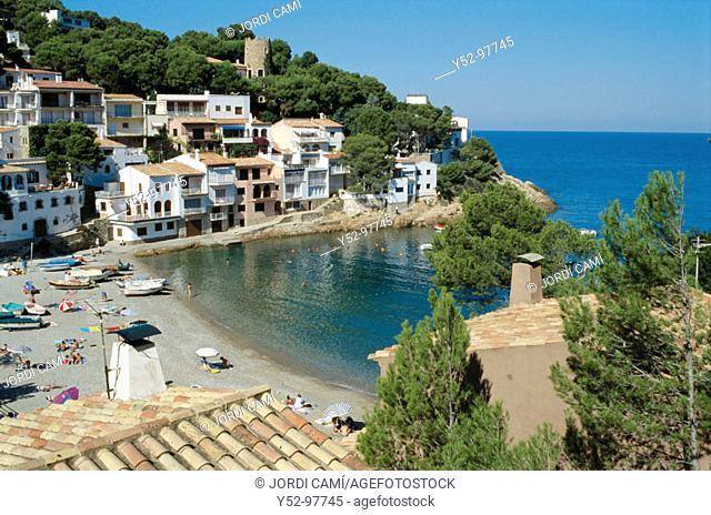 Sa Tuna cove, Costa Brava. Baix Empordà, Girona province, Catalonia. Spain