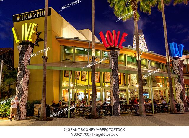Wolfgang Puck Grand Cafe, Downtown Disney, Orlando, Florida, USA