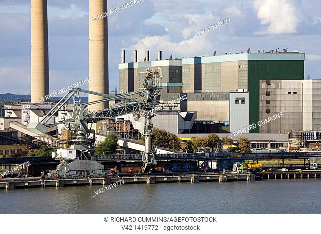 Coal Fired Power Station, Port of Tilbury, Essex, England, United Kingdom, Europe