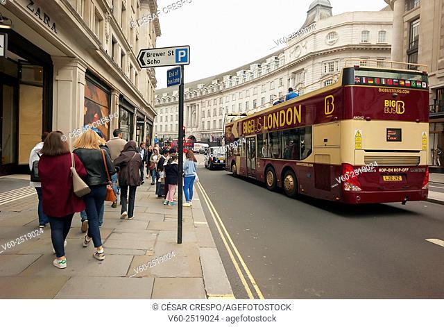 -Picadilly Circus Zone- London United Kingdom