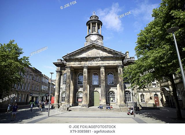 Lancaster City Museum in the former town hall england uk