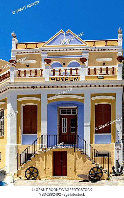 The Folklore Museum, Symi Island, Dodecanese, Greece