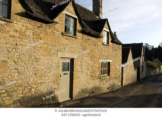 a cotswold cottage in Bibury, Oxfordshire