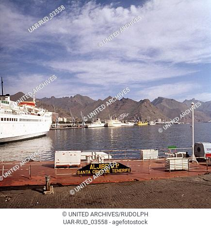Eine Reise zur Vulkaninsel Teneriffa, Spanien 1970er Jahre. A journey to the volcanic island Tenerife, Spain 1970s