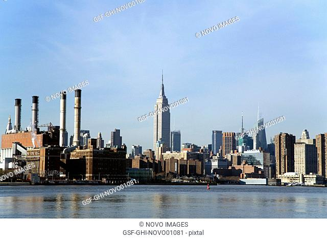 Empire State Building and Skyline, New York City, USA